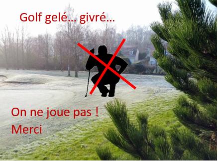 Fermeture annuelle du golf de Machilly